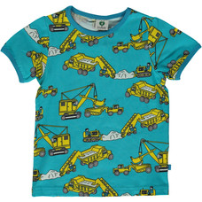 Smafolk shirt Machines blue atoll