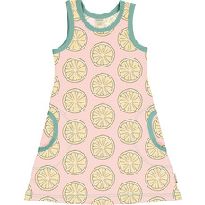 Maxomorra summer dress Fresh Lemon