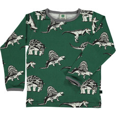 Smafolk shirt Dinosaur hunter green
