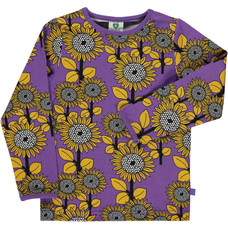 Smafolk shirt Flowers purple heart
