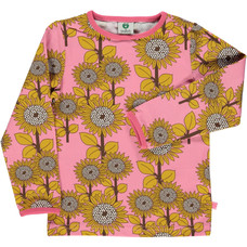 Smafolk shirt Flowers sea pink