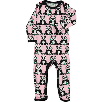 Smafolk jumpsuit Panda coral blush