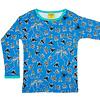 Duns Sweden shirt Flies blue