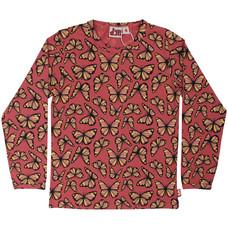 DYR shirt Flutter dk rose