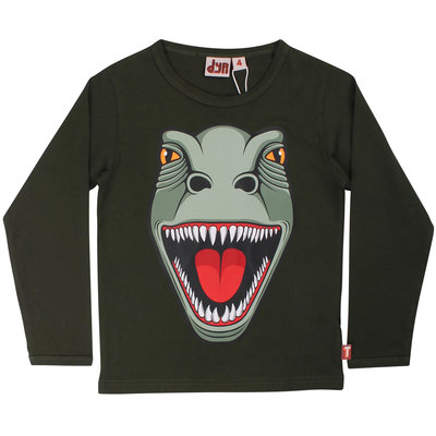 DYR shirt T-Rex dk safari