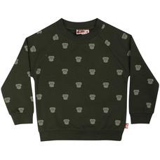 DYR sweater Mini Gorilla dk safari