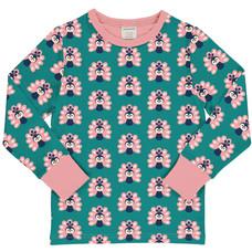 Maxomorra shirt peacock