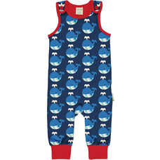 Maxomorra playsuit Whale