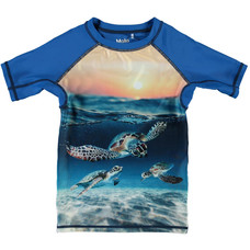Molo zwemshirt Sea Turtle Sunset