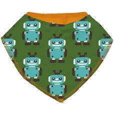 Maxomorra slab/bib Dribble Robot green