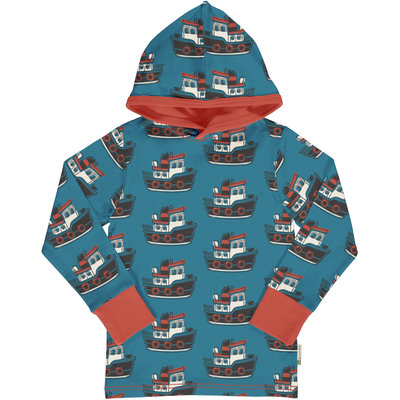 Maxomorra shirt hood Tugboat