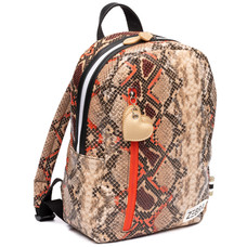 Zebra Trends backpack Wild Snake orange / red (M)