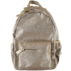 Molo backpack large Gold Glitter