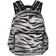 Molo backpack large White Tiger