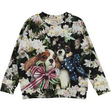 Molo sweatshirt Pretty Puppies