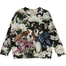 Molo sweatshirt Pretty Puppies