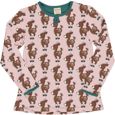 Maxomorra shirt Fawn