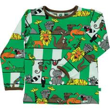 Smafolk shirt Jungle apple green