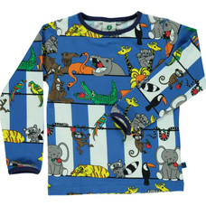 Smafolk shirt Jungle blue lolite