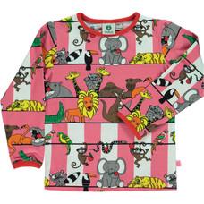 Smafolk shirt Jungle rapture rose
