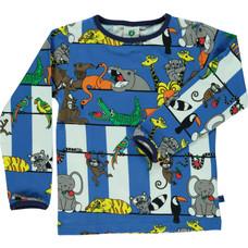 Smafolk shirt Jungle blue lolite baby