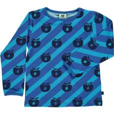Smafolk shirt Apple ocean blue
