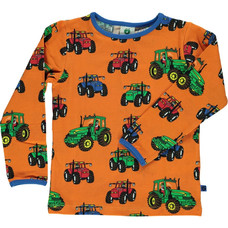 Smafolk shirt Tractor orange