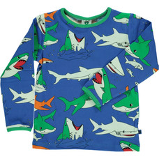 Smafolk shirt Shark blue lolite