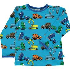 Smafolk shirt Machines ocean blue