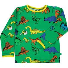 Smafolk shirt Dino apple green