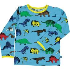Smafolk shirt Dino blue grotto
