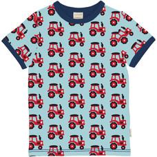 Maxomorra shirt Tractor ss
