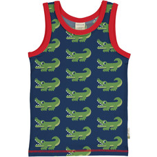 Maxomorra tank top Crocodile