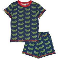 Maxomorra pajama set Crocodile