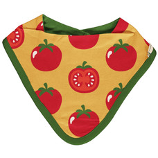 Maxomorra slab / bib dribble Tomato
