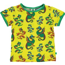 Smafolk shirt Dragon yellow ss