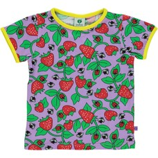 Smafolk shirt Strawberry viola ss