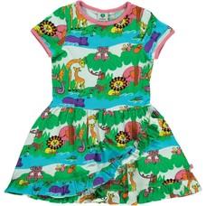 Smafolk jurk Jungle rapture rose