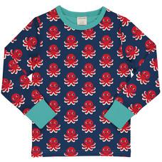 Maxomorra shirt ls Octopus