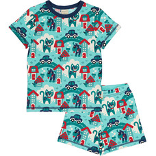 Maxomorra pajama set Town
