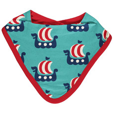 Maxomorra slab / bib dribble Viking Ship