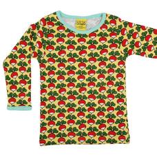Duns Sweden shirt ls Radish aspen gold