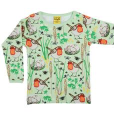 Duns Sweden shirt ls Robin nile green