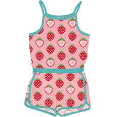 Maxomorra zomer jumpsuit Strawberry