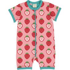 Maxomorra summersuit Strawberry