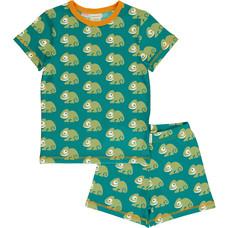 Maxomorra pajama set Chameleon