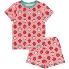 Maxomorra pajama set Strawberry