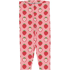Maxomorra legging cropped Strawberry