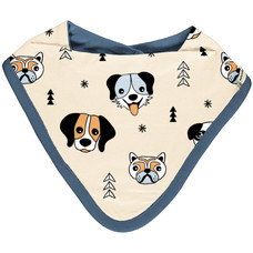 Meyadey (Maxomorra) bib / bib dribble Happy Dogs