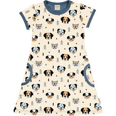 Meyadey (Maxomorra) jurk Happy Dogs